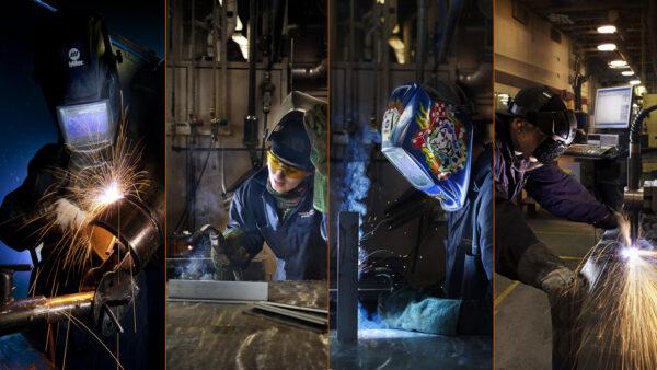 Projet – Photographie industrielle de soudure